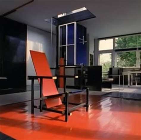 gerrit rietveld architecture furniture bdf