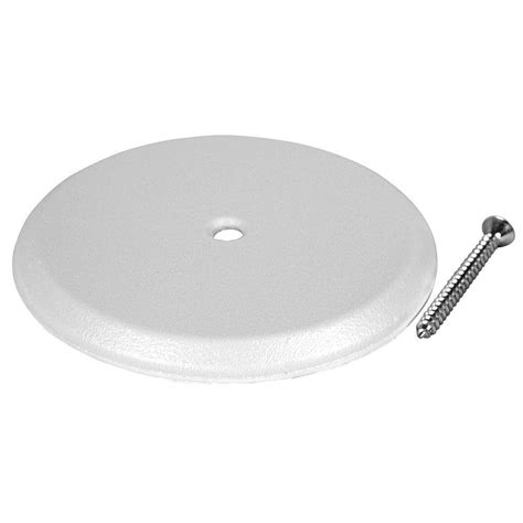 bathtub cleanout plate oatey 5 in cleanout cover plate 34411 the home depot