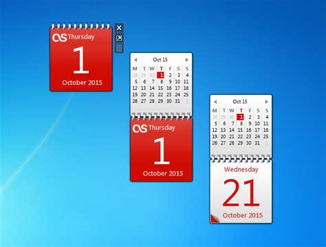 Calendar Desktop Gadget Windows 7 Windows 7 Calendar Gadget Calendar Template 2016
