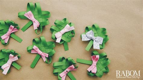ribbon shamrock instructions shamrock ribbon sculpture tutorial ribbon and bows oh my