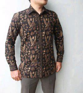 Baju Koko Batik Variasi model pakaian kantor pria terbaru 2017