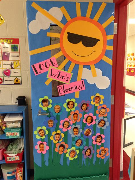 educational themes for april new classroom door decor for spring school stuff