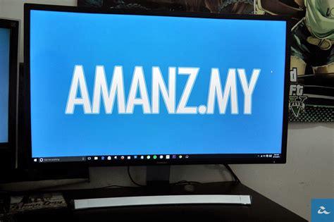 Tv Samsung Melengkung ulasan monitor 32 led samsung se590c skrin melengkung keperluan ataupun gimik amanz