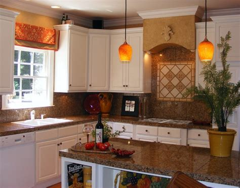 kitchen with off white cabinets stone backsplash and off white kitchen cabinets with stone backsplash