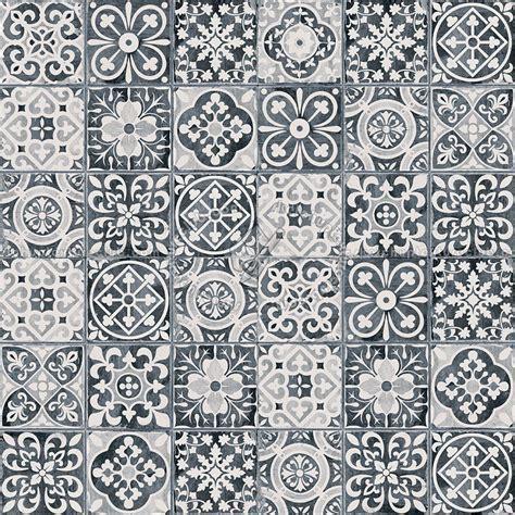 Patchwork tile texture seamless 16604