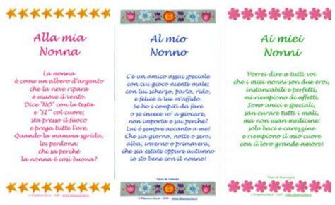 lettere per la nonna festa dei nonni poesie filastrocche lavoretti