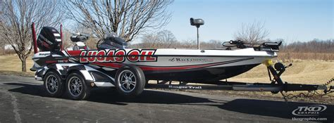 boat wraps ky photo blog team day s bass boat tko graphix