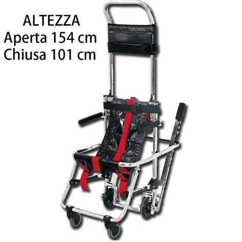 sedia scendiscale sedia portantina da evacuazione scendiscale skid in