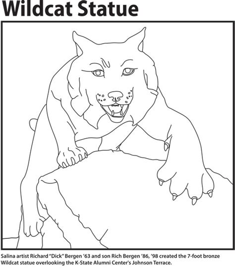 K State Coloring Pages by Coloring Pages Open House Global Cus