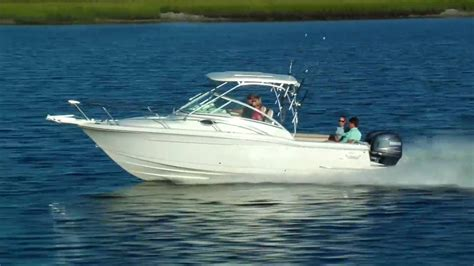 scout boats ratings scout boats 245 abaco series youtube