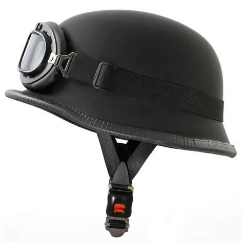 Motorradhelm Stahlhelm by Stahlhelm Wehrmachtshelm Halbschale Mit Brille
