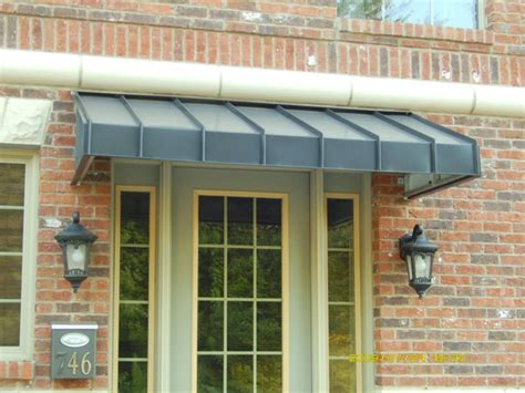 commercial metal awning awning commercial metal awnings