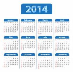 Calendrier Week 2014 Calendar New 2014 Calendars