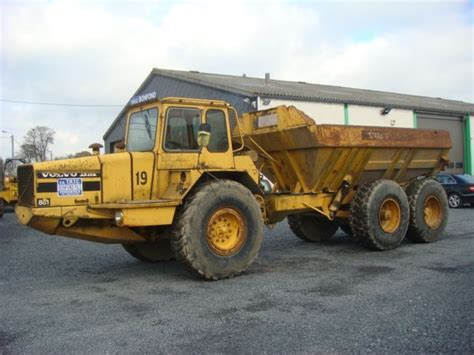 volvo dumper volvo bm 861 dumper from belgium for sale at