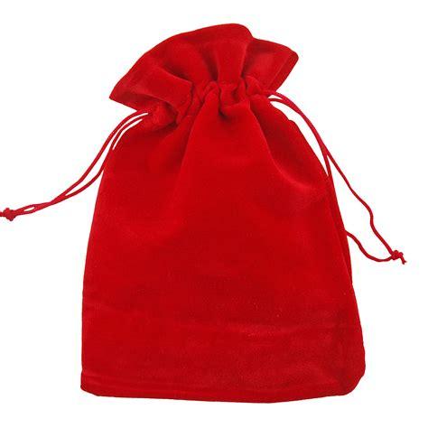 velvet jewellery drawstring wedding gift bag favour