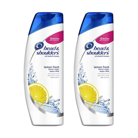 Harga Shoo And Shoulders Lemon jual shoulders lemon fresh shoo anti dandruff