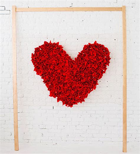 valentines backdrops easy diy s day decorations
