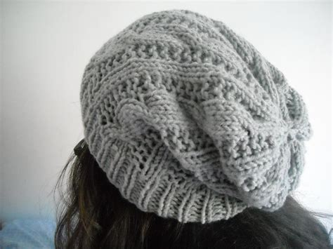 easy knit hat pattern for sale easy cableknit beanie hat by aytulgift craftsy