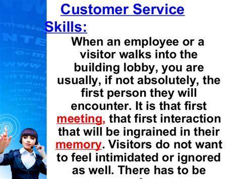 impressions customer service skills april 2013