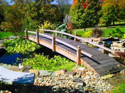 yard bridges backyard garden bridges landscapingandgardeningguide