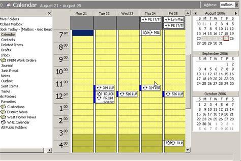 Ok Show Me My Calendar Tasks Not Showing In Outlook 2002 Calendar View