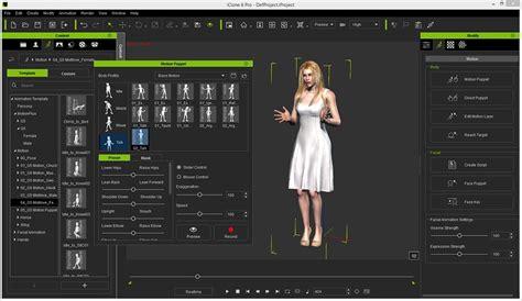 online program maker iclone 6 pro character creator software review