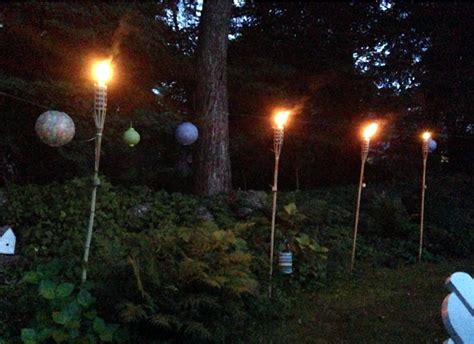 Set The Mood With Summer Night Lights Patio Torch Lights