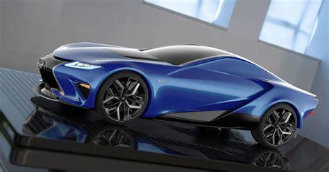 lexus supercar lexus lf la concept side