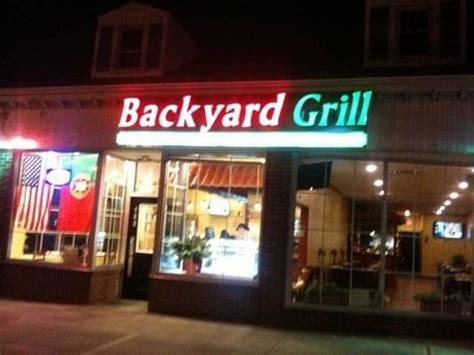 backyard grill in kenilworth menu reviews specials more