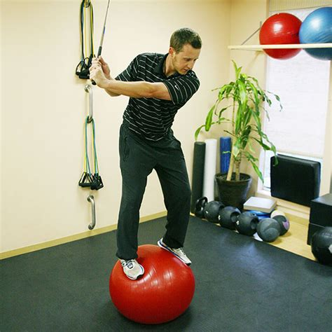 golf core stability exercises strong mid section