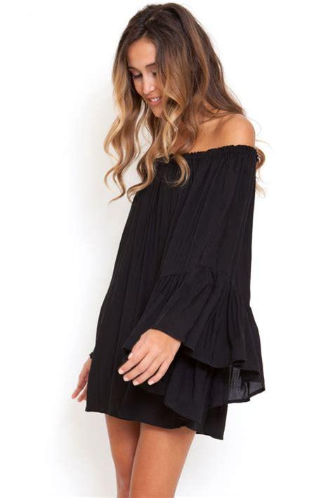 22010 Black Sllast Pcs cheap wholesale black ethereal chiffon mini dress