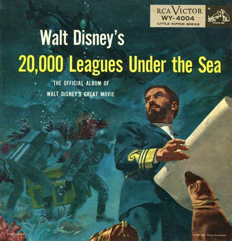 20000 leagues under the 20 000 leagues under the sea walt disney official album soundtrack rca victor ep cd
