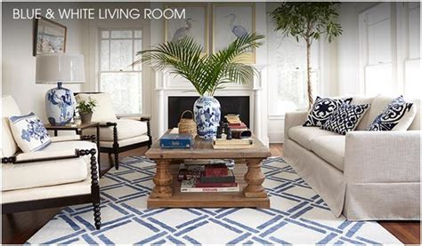 blue white living room inspirations residences by robin