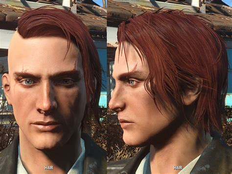hair and face models fallout 4 more hairstyles for male fallout 4 fo4 mods