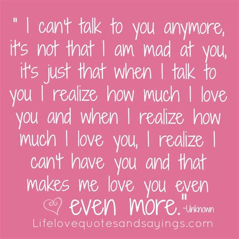 quotes about loving quotes about loving someone you cant quotesgram