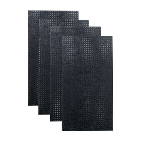 Husky 52 In Pegboard Back Wall For Tool Cabinet Black by Wall 32 In X 48 In Metal Pegboard Standard Tool
