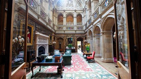 Mansions Designs by Highclere Castle Photo Tour Travel Channel Travel Channel