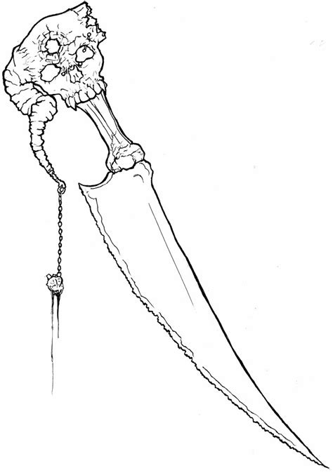 Dagger Drawing at GetDrawings | Free download