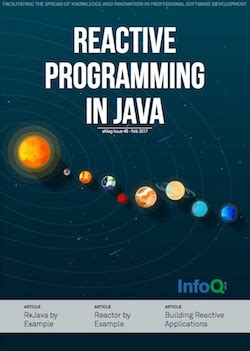 reactive programming in kotlin design and build non blocking asynchronous kotlin applications with rxkotlin reactor kotlin android and books the infoq emag reactive programming with java