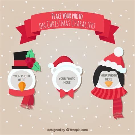 Kostenlose Vorlage Weihnachten Weihnachten Charaktere Vorlage F 252 R Fotografie Der Kostenlosen Vektor