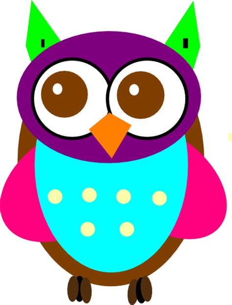 Colorfull Owl gallery for gt colorful owl clipart