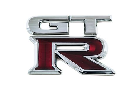 genuine nissan gt r r35 rear badge 84894jf00a ebay