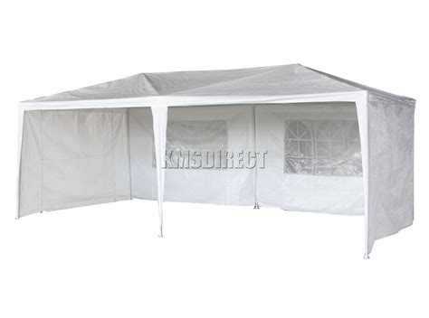 marquee awning new waterproof 3m x 6m pe outdoor garden gazebo party tent