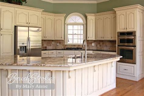 chalk paint vs milk paint for kitchen cabinets kitchen cabinets brushstrokes by mary anne chalk paint