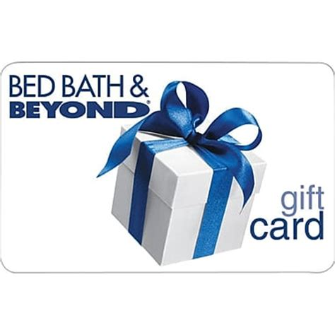 bed bath beyond gift cards staples 174 - Bed Bath Beyond Gift Card