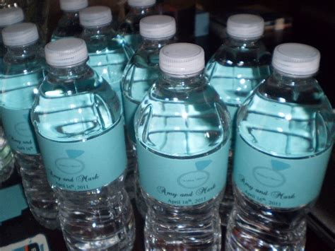 Label Botol Air Mineral Custom dalam hati ada taman sticker label botol mineral