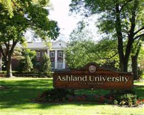 Ashland Mba Requirements by Ashland Ohio Usa Undergraduate And Graduate