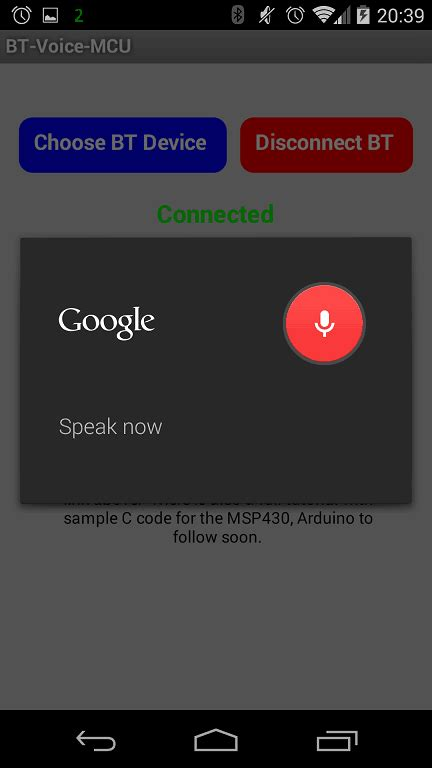 tutorial android app bluetooth tutorial control your launchpad using your voice four