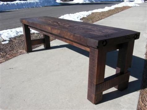 Woodworking Plans Entry Bench