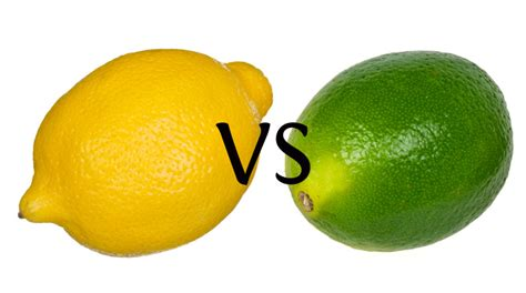 which is better lemon or lime do you the difference between lemon and lime